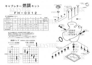 CD90/C201/CT201用キャブレター燃調キット