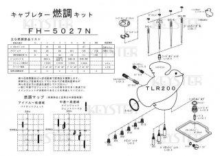 TLR200用キャブレター燃調キット