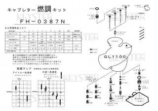 GL1100用キャブレター燃調キット
