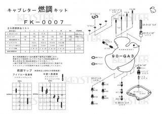 90-GA3用キャブレター燃調キット