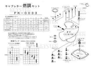 F7用キャブレター燃調キット