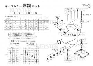 B100用キャブレター燃調キット