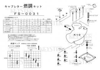 K10用キャブレター燃調キット