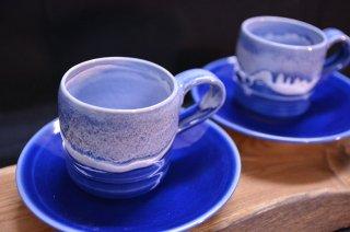 オホーツク焼コーヒーカップ(2客)【常温】