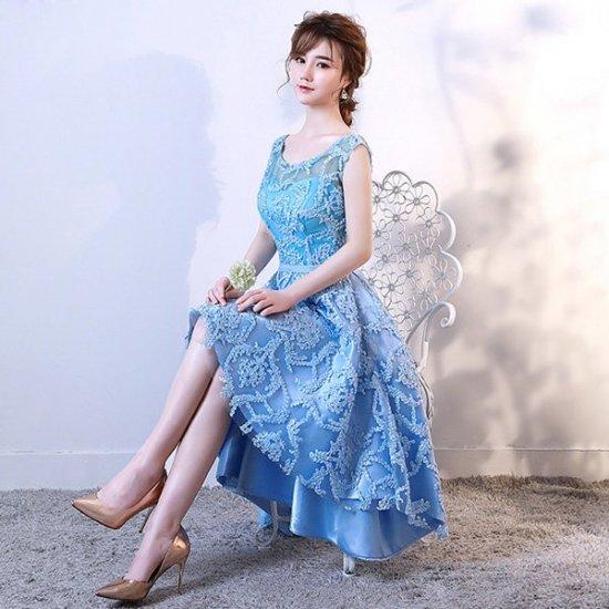 7677aaefbae8b ブルードレス 二次会 花嫁 ドレス ワンピース 小さいサイズ ドレス 大きいサイズ ドレス 結婚式 二次会 花嫁 サイズ指定可 20代