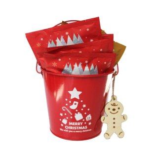 【クリスマス限定】クリスマスブレンド ドリップコーヒー10個・クリスマスバケツ入り