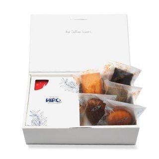 【クリスマス限定】クリスマスブレンド ドリップコーヒー5個・焼き菓子5個セット(ギフトボックス入り)