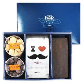 【父の日特集】ヒロ大黒・選べるクッキー2種類と限定ファザーズブレンドセット(送料無料)