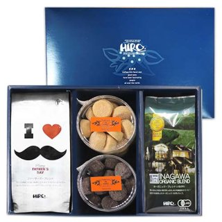 【父の日特集】選べるクッキー2種類とストロングブレンド・限定ファザーズブレンドセット(送料無料)