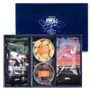 【敬老の日】選べるクッキー2種類と秋ブレンド『みのり』・オーガニックいながわセット(送料無料)