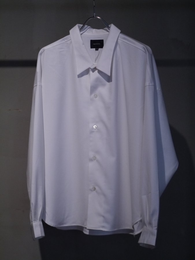 <img class='new_mark_img1' src='https://img.shop-pro.jp/img/new/icons5.gif' style='border:none;display:inline;margin:0px;padding:0px;width:auto;' />Big shirt 弐 - Gabardine / White