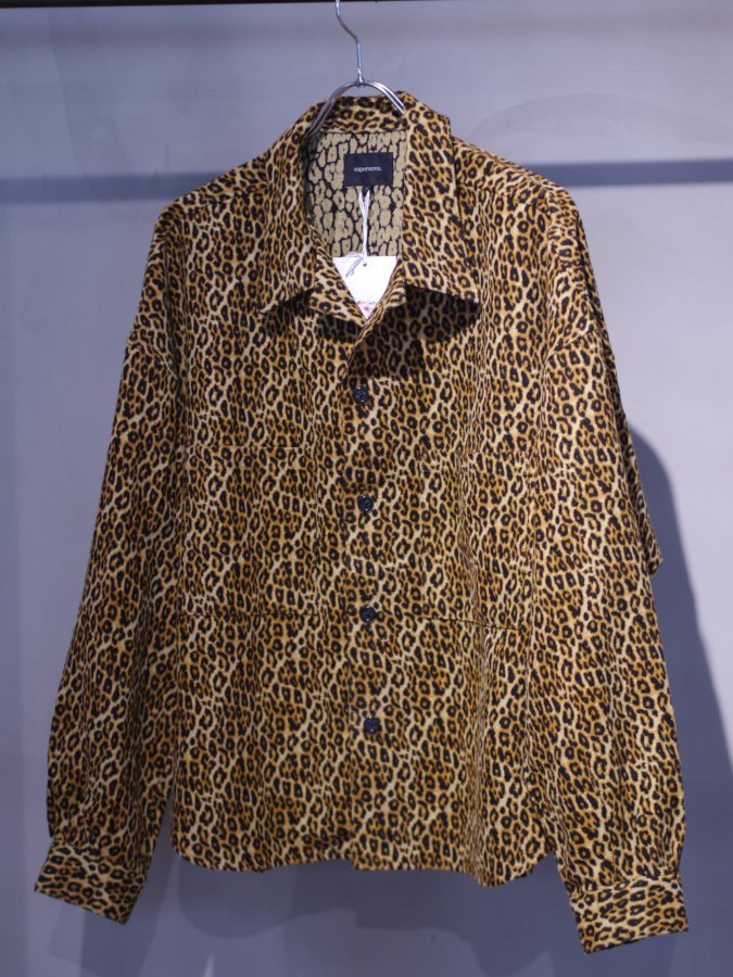 <img class='new_mark_img1' src='https://img.shop-pro.jp/img/new/icons5.gif' style='border:none;display:inline;margin:0px;padding:0px;width:auto;' />Big shirt jacket 弐 / Leopard