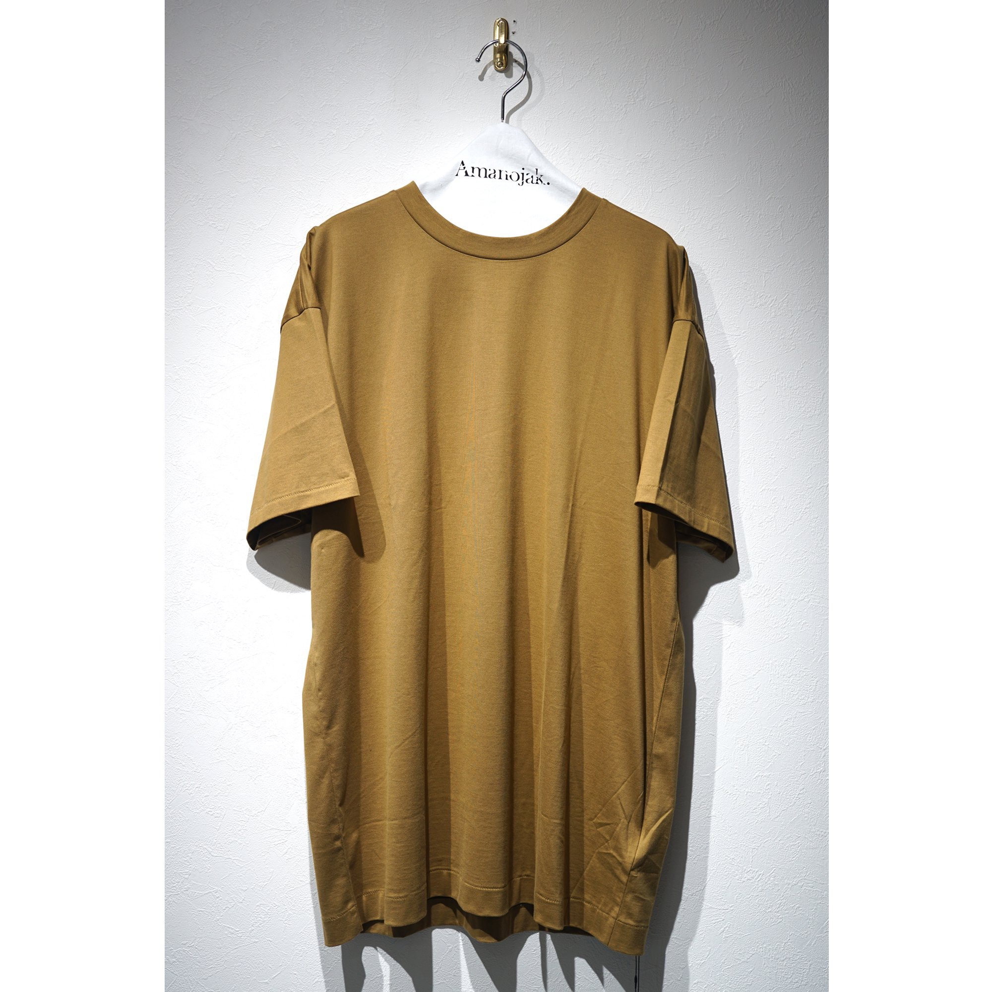 ATON-OVER SIZED T-SHIRTS KHAKI