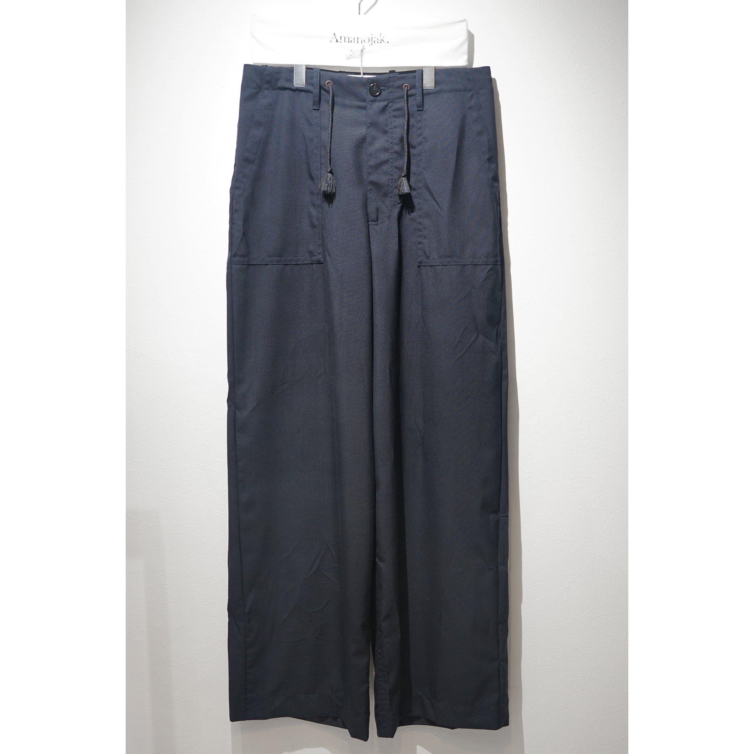 MARNI-WOOL BAKER PANTS<br>(在庫なし)