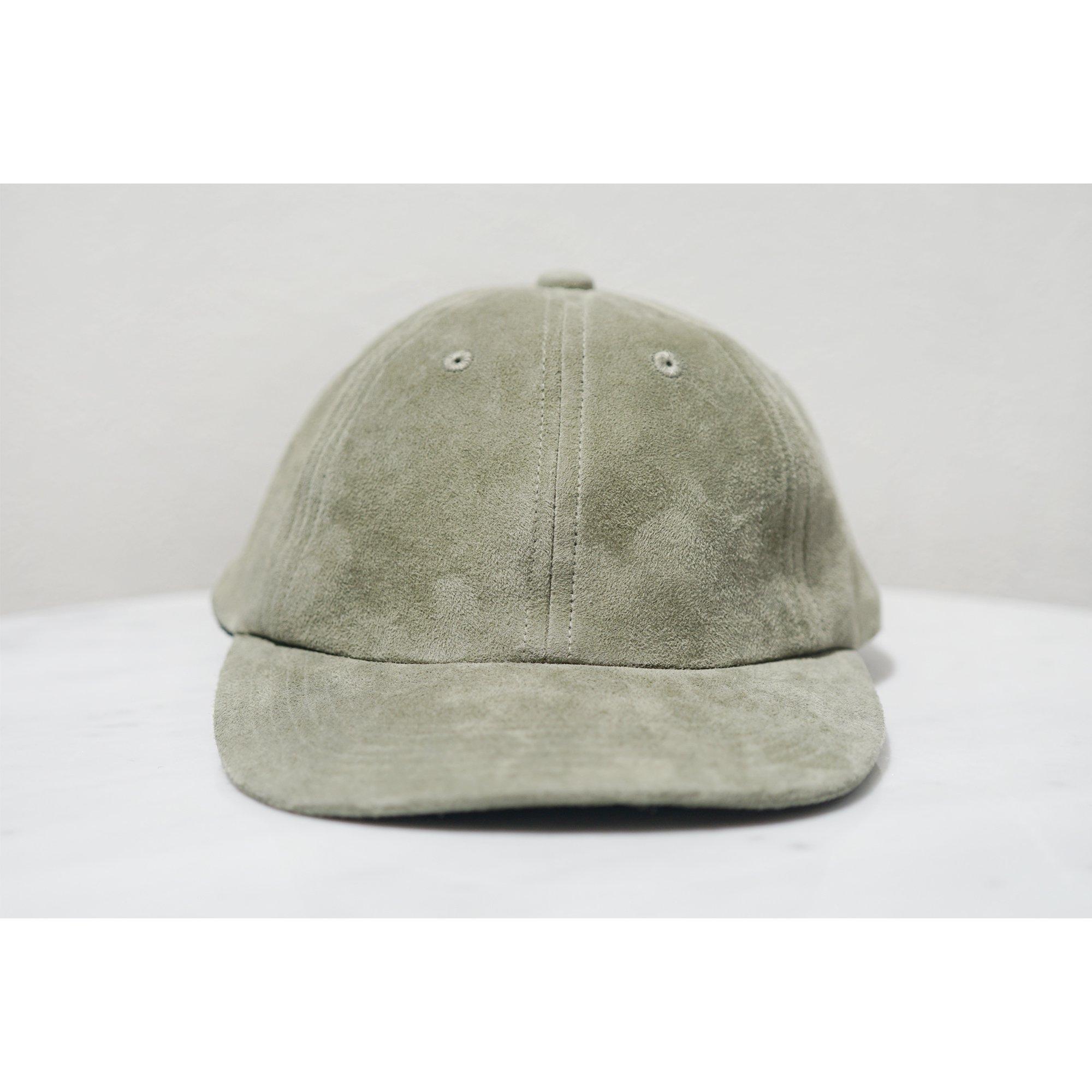 KIJIMA TAKAYUKI-SUEDE BASEBALL CAP