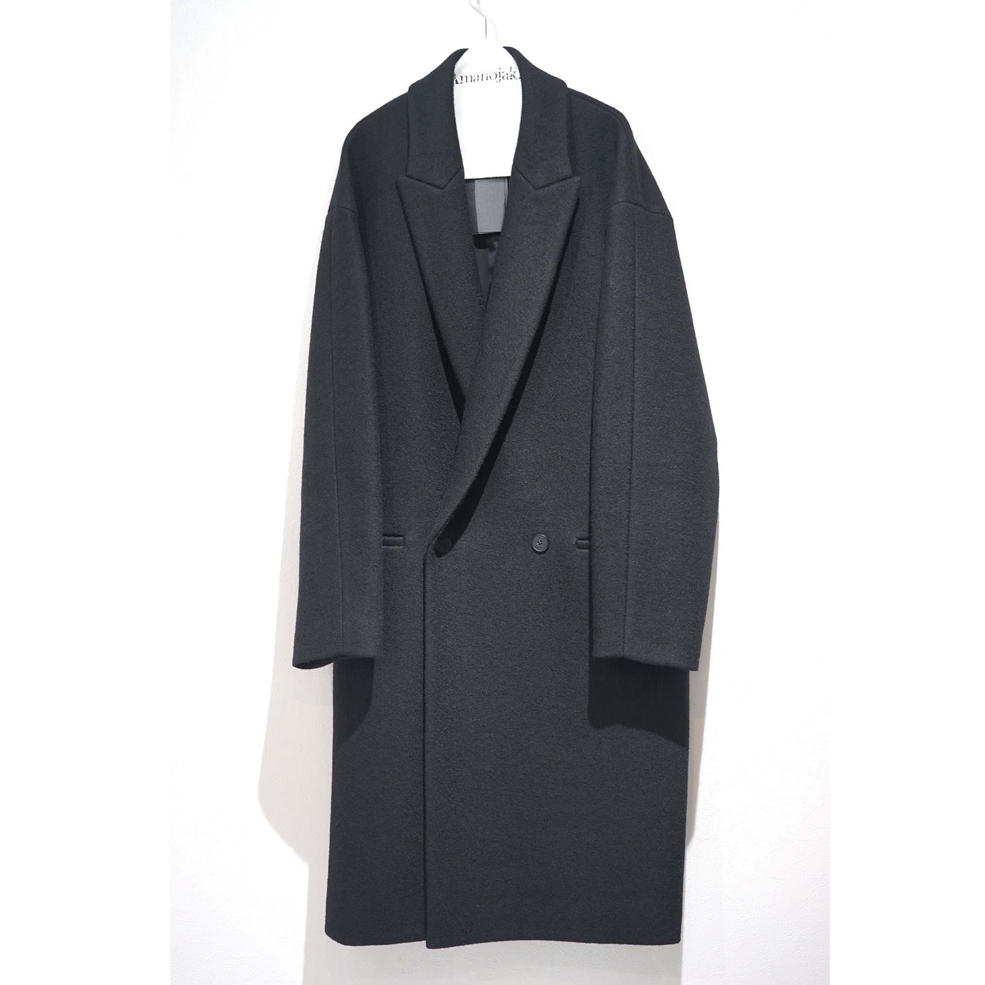 ATON-SUPER140's BOUMOU MELTON CHESTER COAT