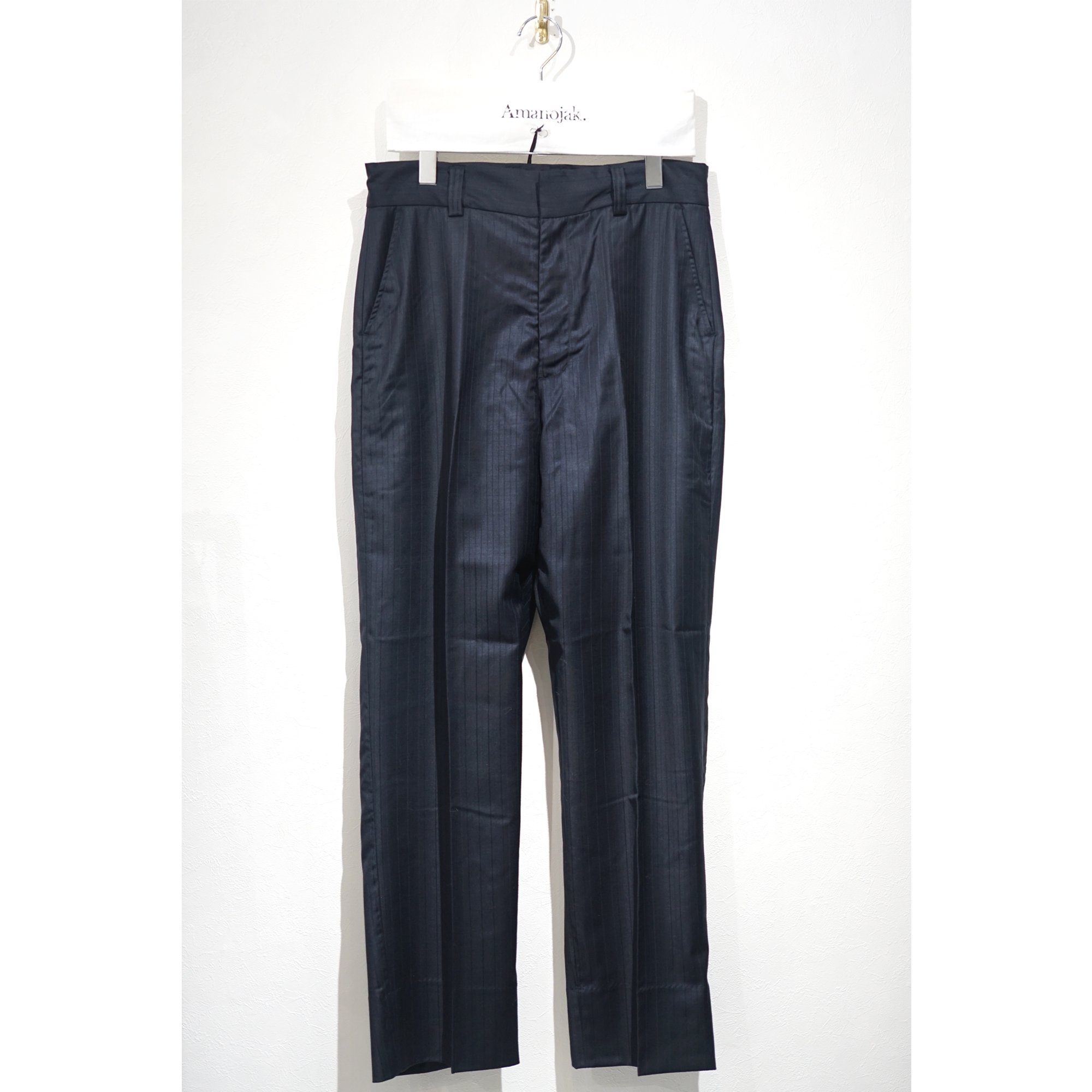 ATHA-WO/SI SHADOW STRIPE EASY TROUSERS