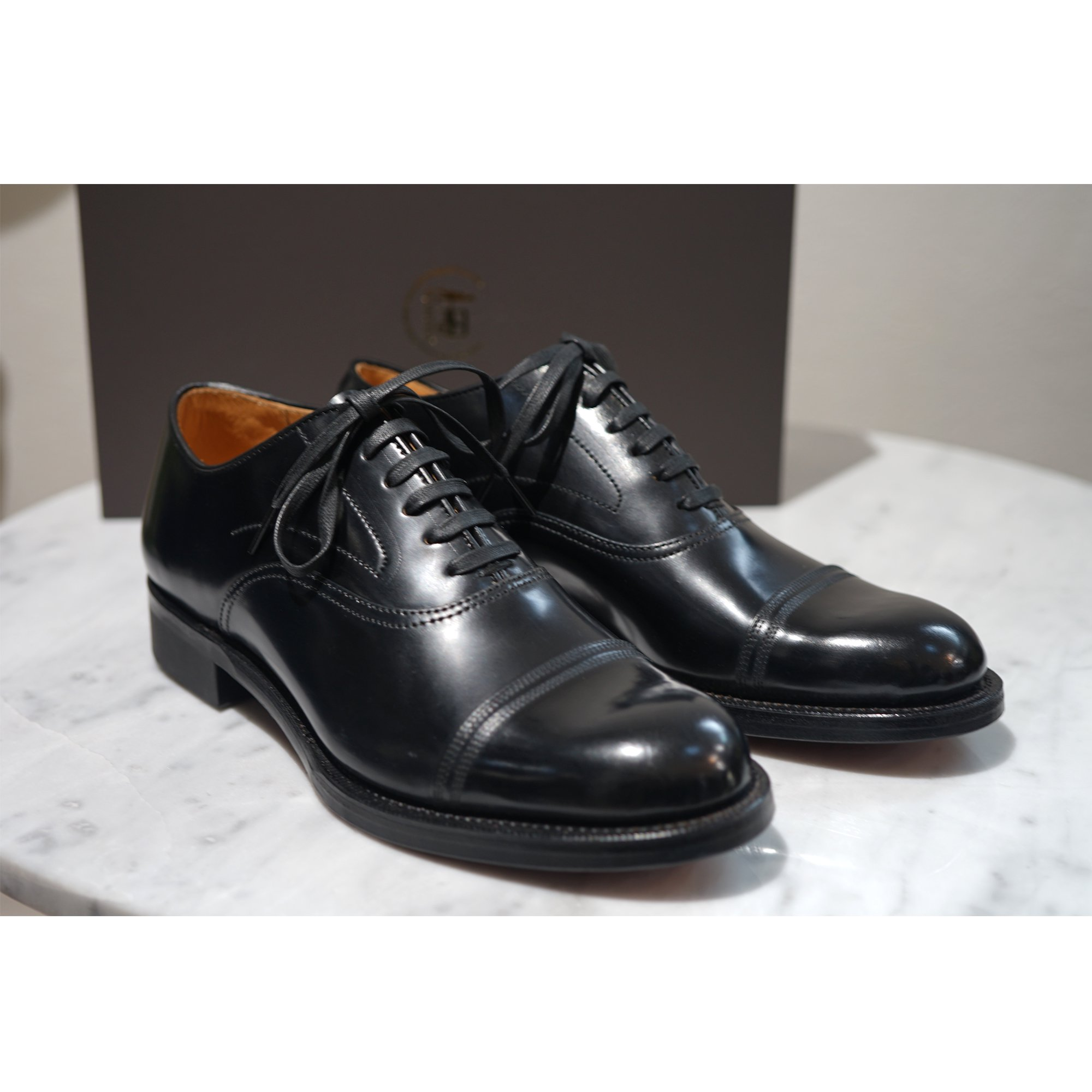 Makers-CORDOVAN STRAIGHT BALMORAL