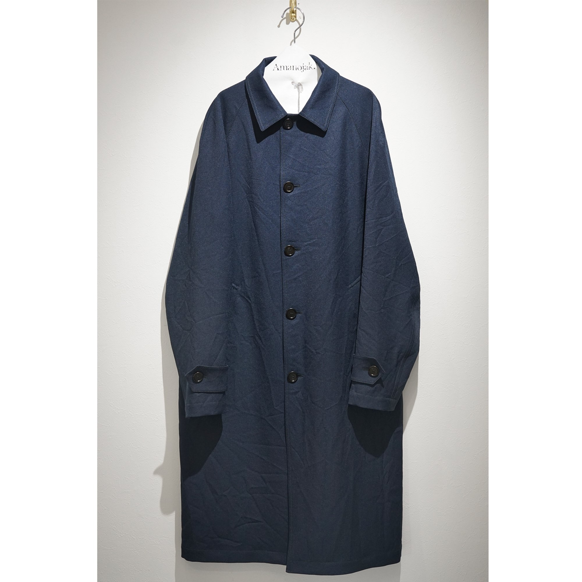 MARNI-POLY COTTON GABARDINE SOUTIEN COLLAR COAT<br>(在庫なし)