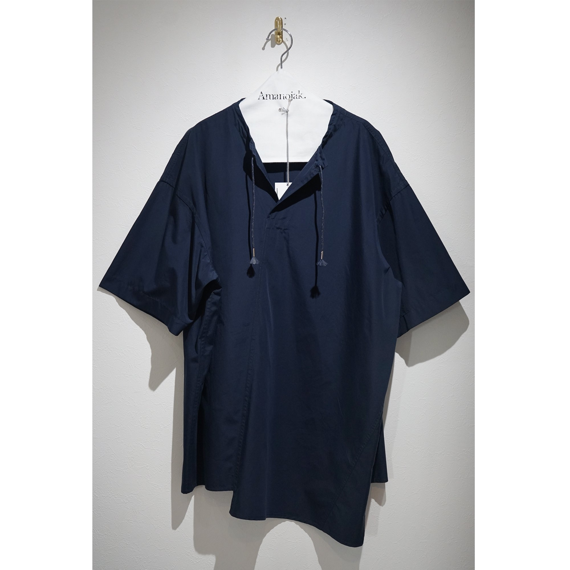 MARNI-STRING SKIPPER SHORT SLEEVE SHIRTS BLU NAVY<br>(在庫あり)