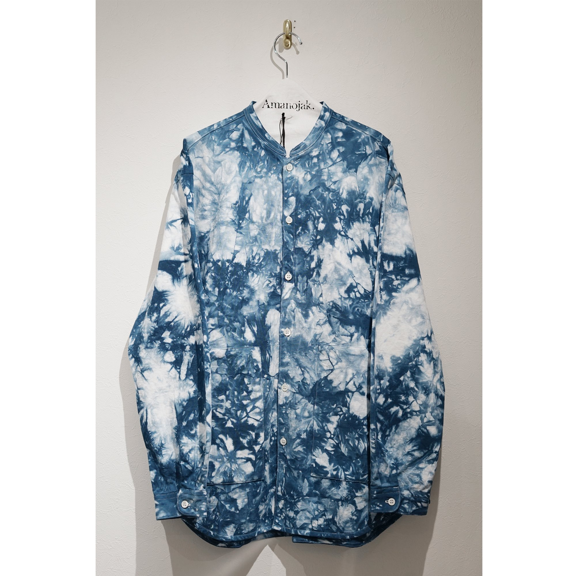 CURLY-BLENDER LS SHIRTS CAGO DYE NAVY