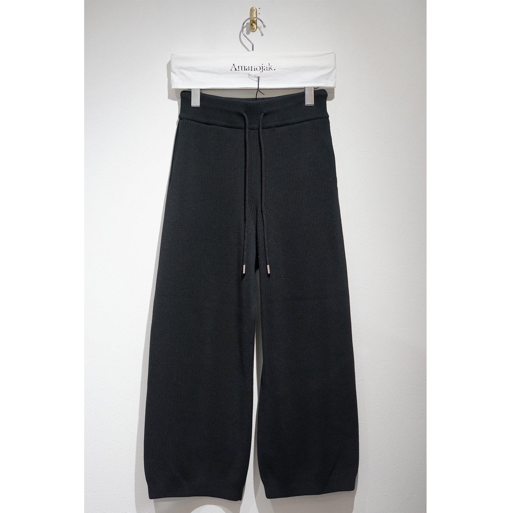 BATONER-FORM UP PANTS BLACK
