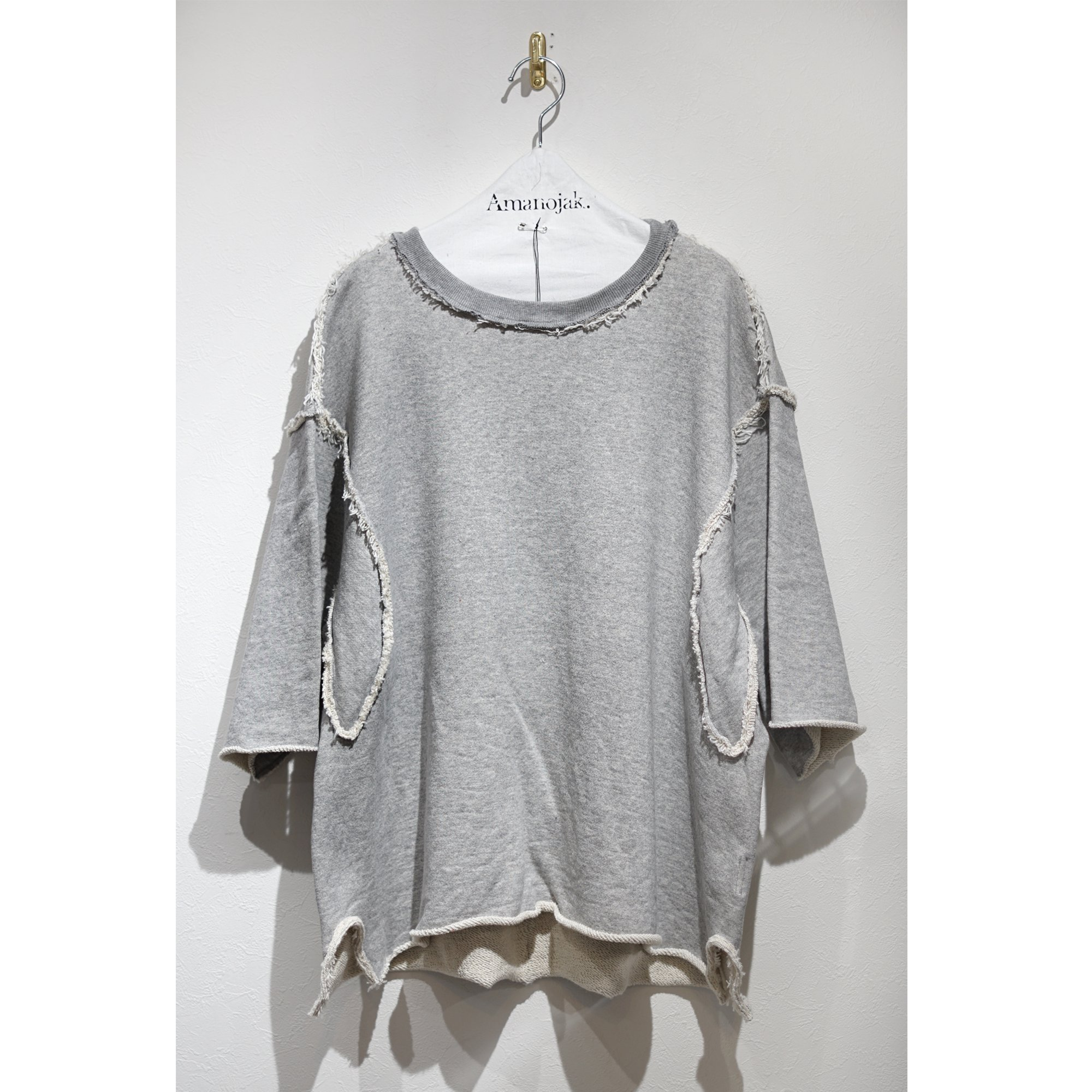 <img class='new_mark_img1' src='https://img.shop-pro.jp/img/new/icons56.gif' style='border:none;display:inline;margin:0px;padding:0px;width:auto;' />MAINU-SWEAT THUMBS ARMHOLE CREW GRAY