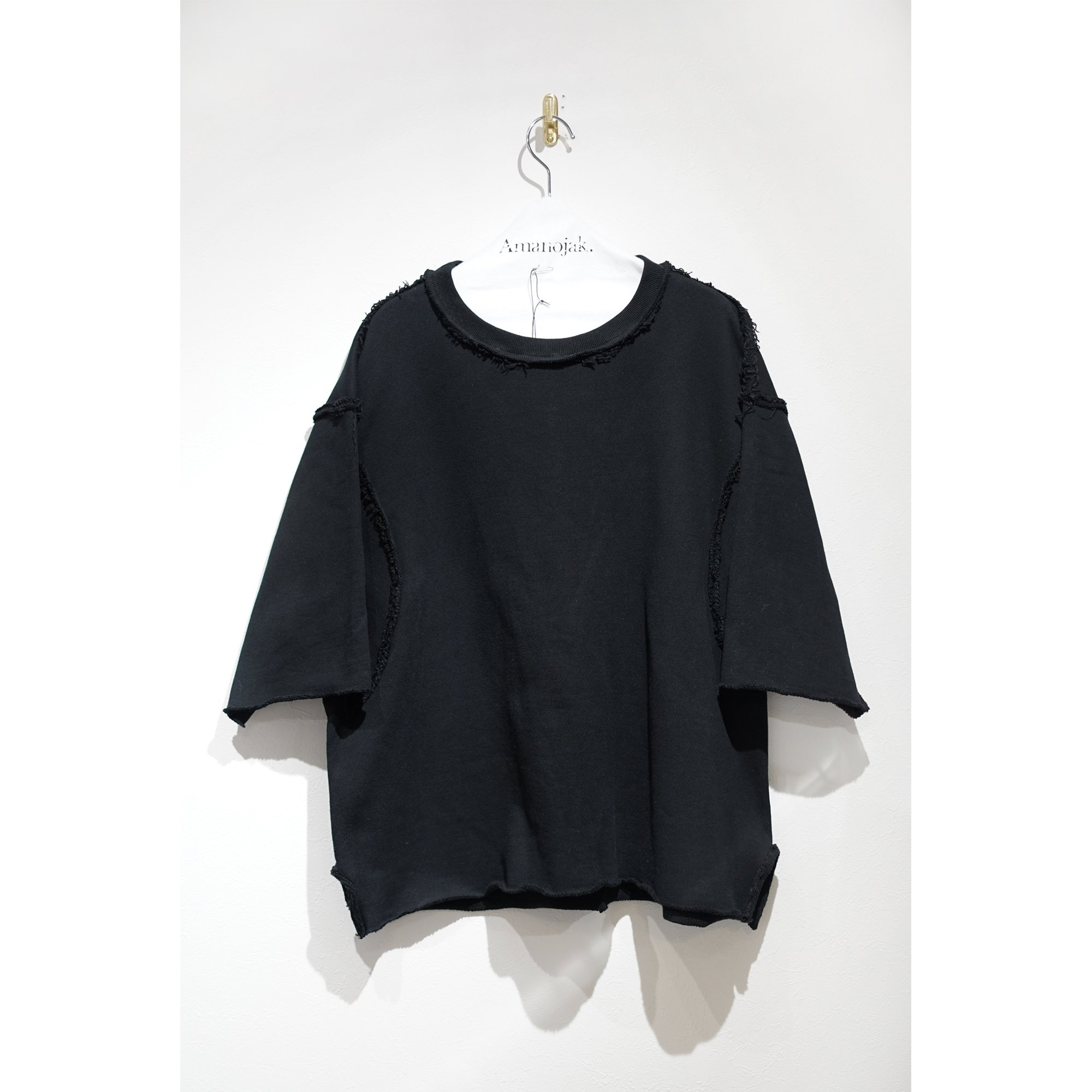 <img class='new_mark_img1' src='https://img.shop-pro.jp/img/new/icons56.gif' style='border:none;display:inline;margin:0px;padding:0px;width:auto;' />MAINU-SWEAT THUMBS ARMHOLE CREW BLACK
