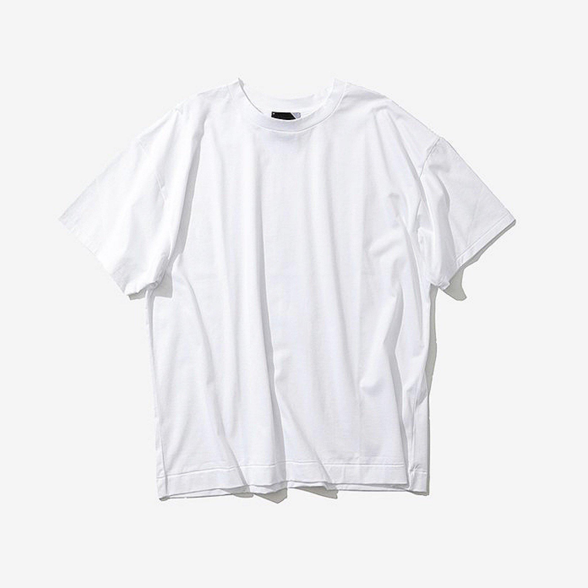 ATON-OVERSIZED T-SHIRTS WHITE 19ss