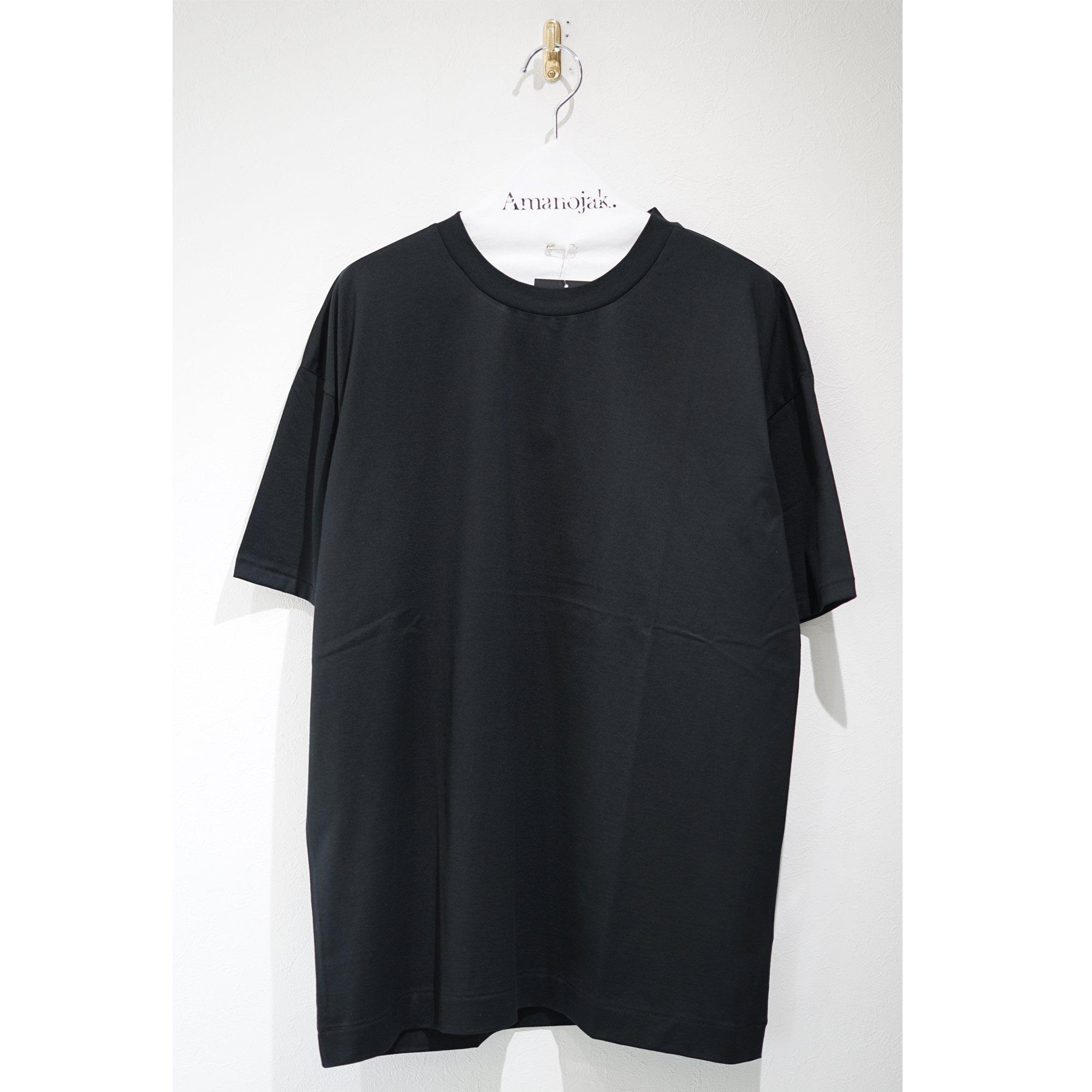 ATON-OVERSIZED T-SHIRTS BLACK 19ss