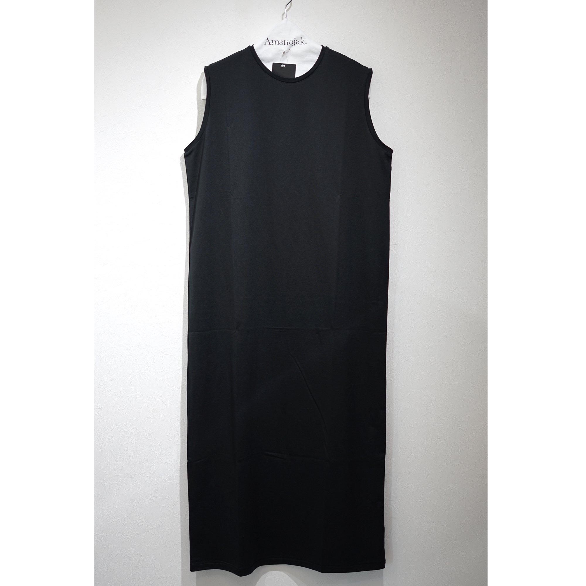 ATON-TANK TOP DRESS BLACK