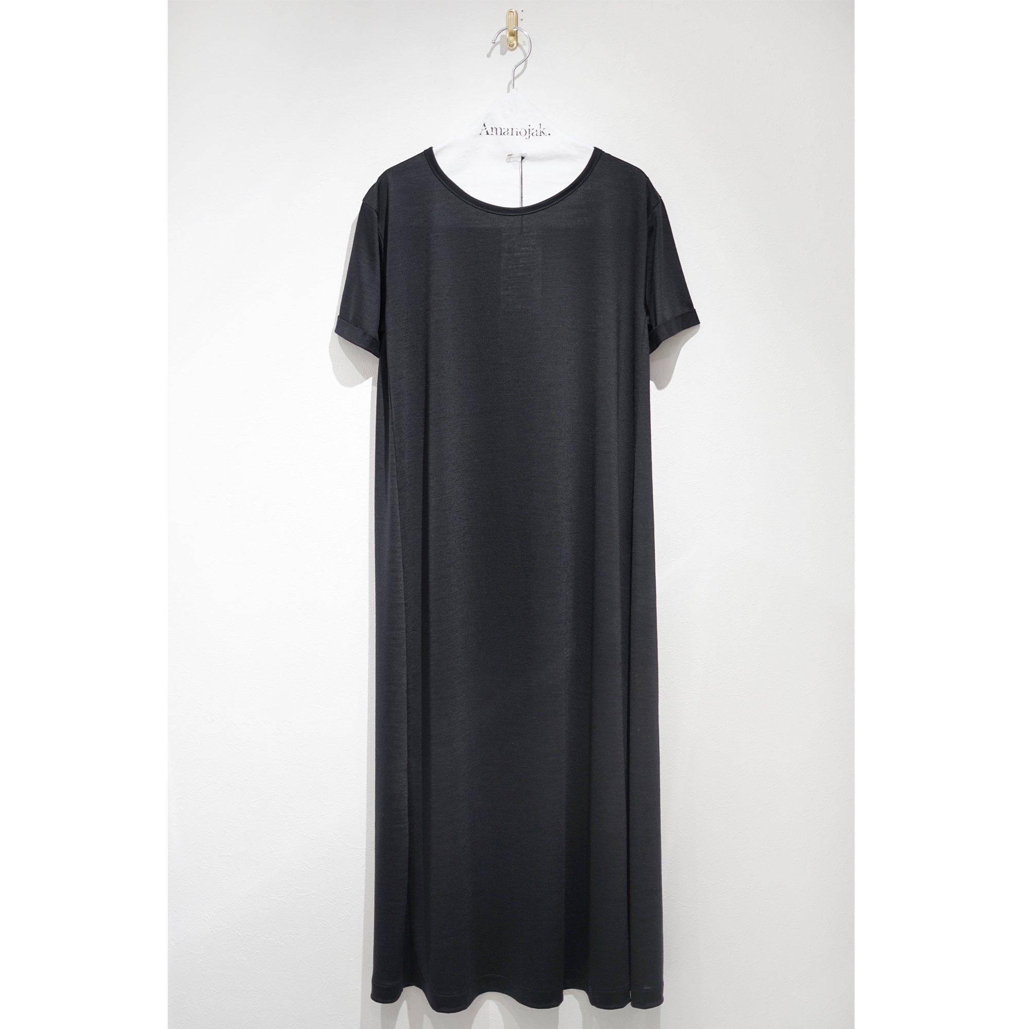 BATONER-WOOL DRESS TEE ONEPIECE BLACK