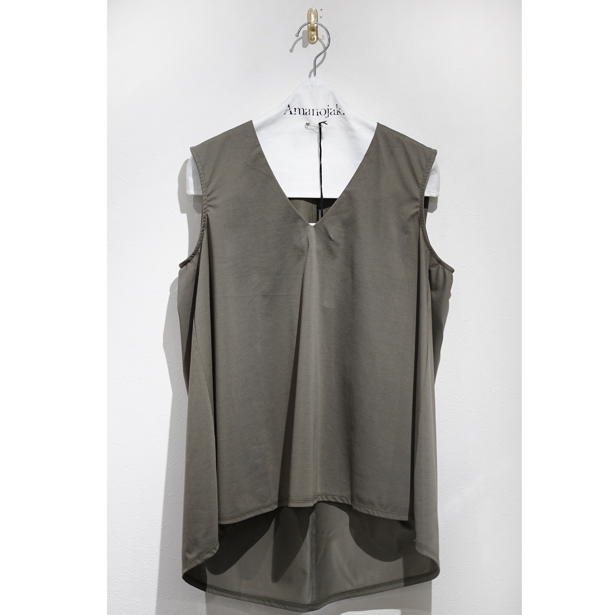 08sircus-HIGH GAUGE JERSEY SLEEVELESS TOP