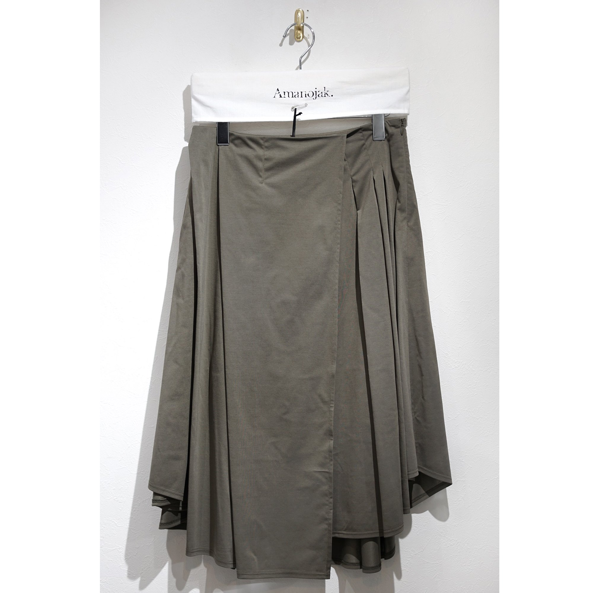 08sircus-HIGH GAUGE JERSEY WRAP SKIRT