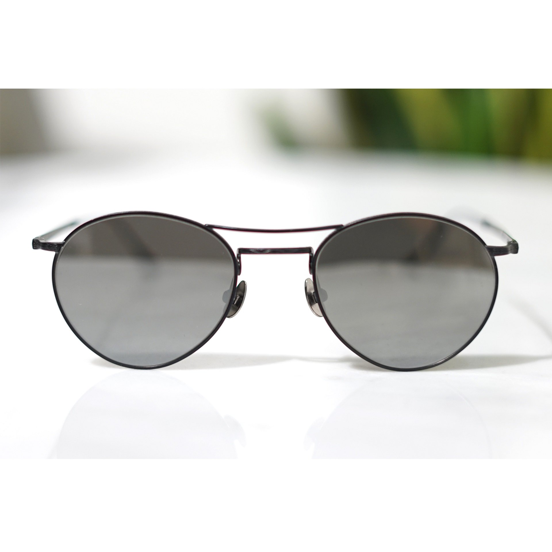 MATSUDA EYEWEAR-M3084 DOUBLE BRIDGE METAL SUNGLASSES