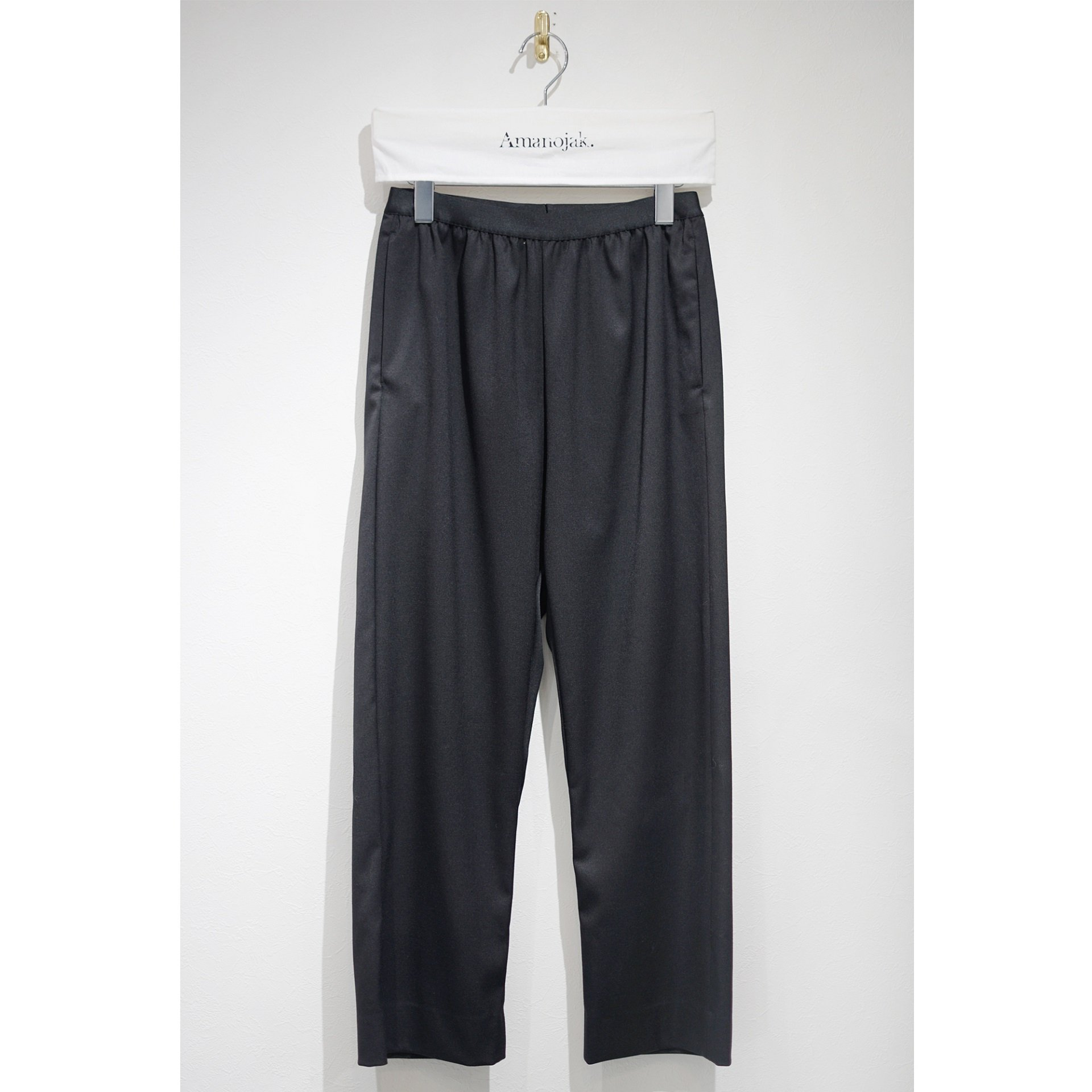MM6-POLYESTERE/WOOL EASY PANTS<br>(在庫あり)