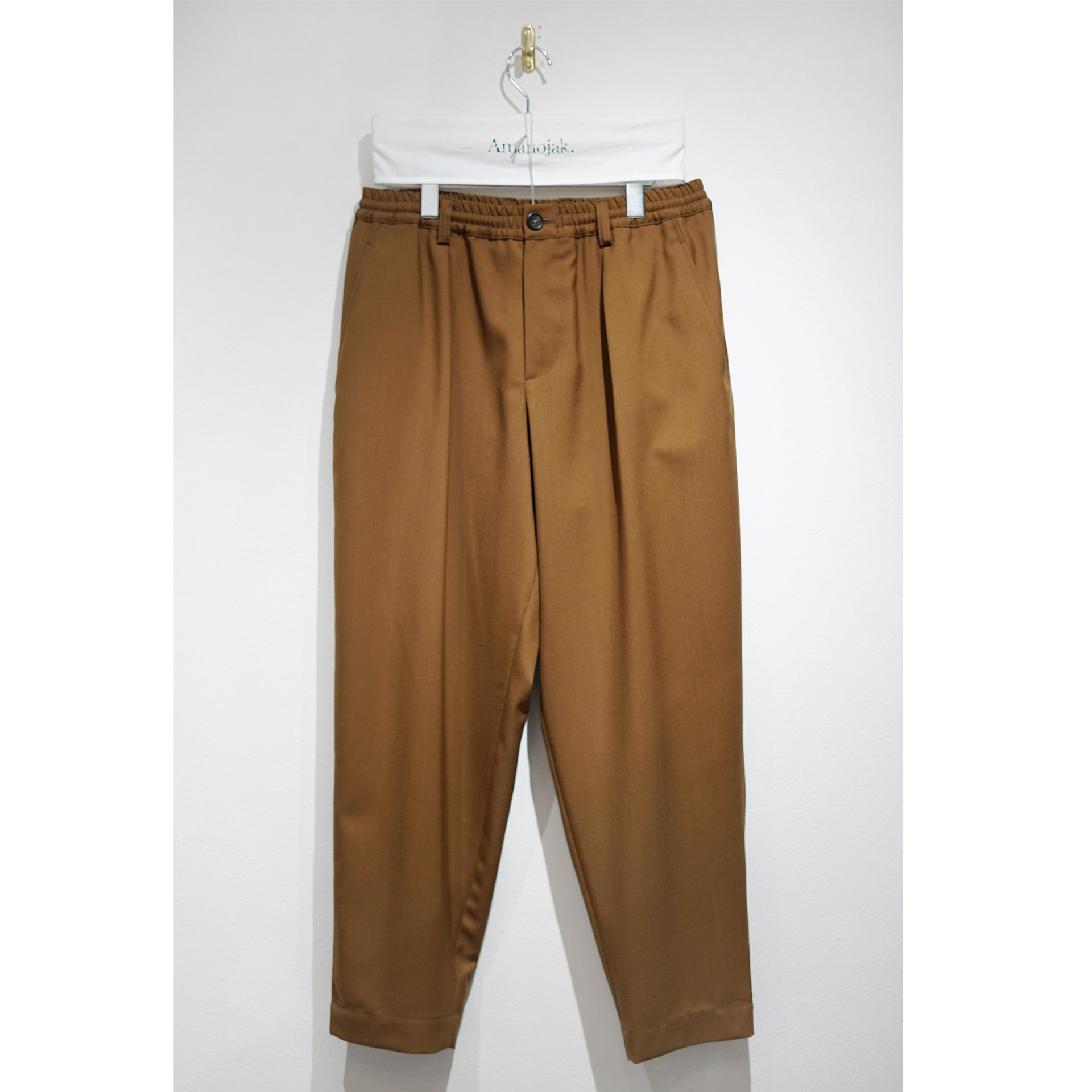 MARNI-EASY PANTS WOOSTED WOOL LAND<br>(在庫なし)