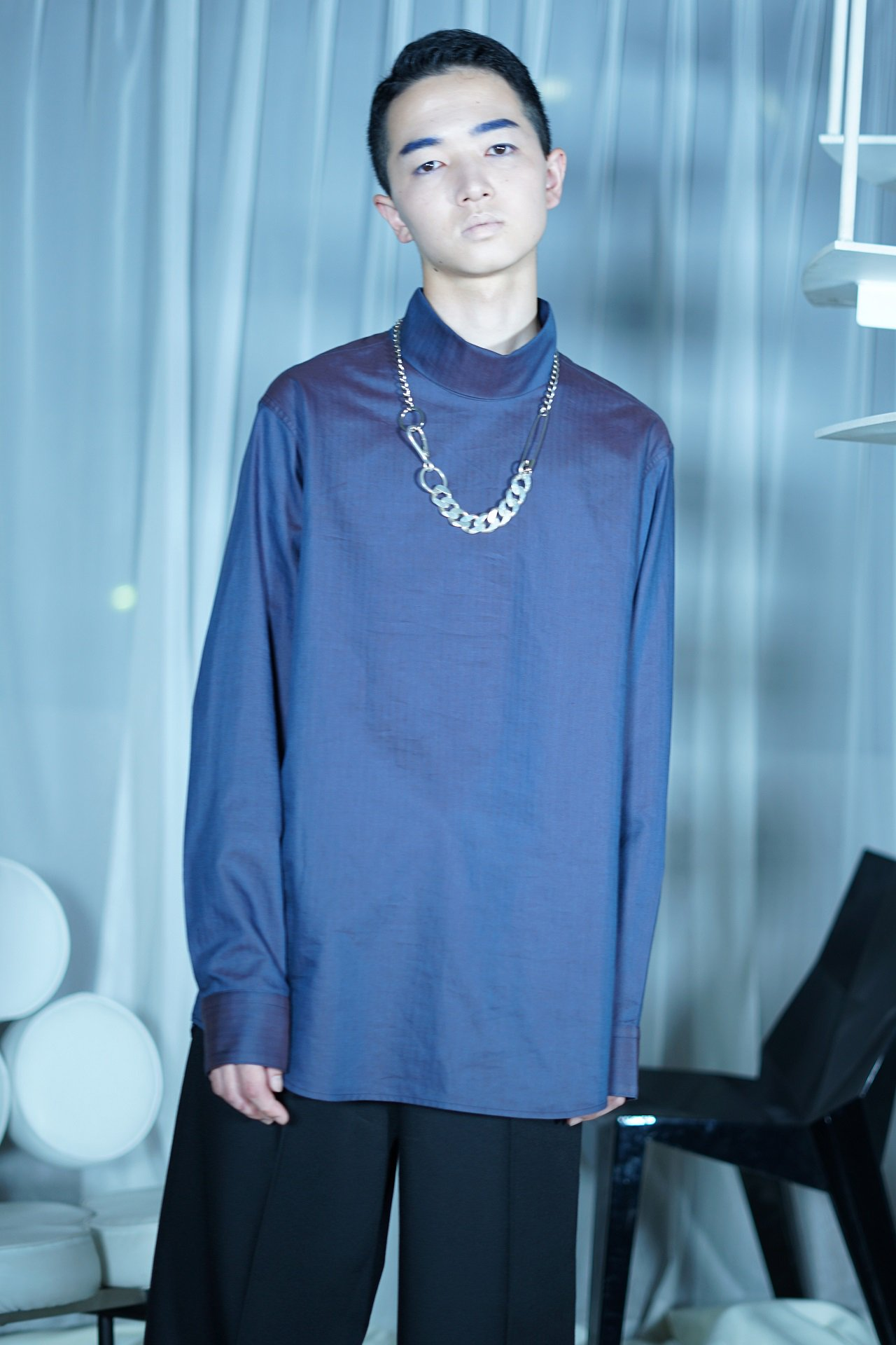 """40着限定受注""【EXCLUSIVE】[Milok] for Amanojak.- ""TURTLE NECK SHIRTS"