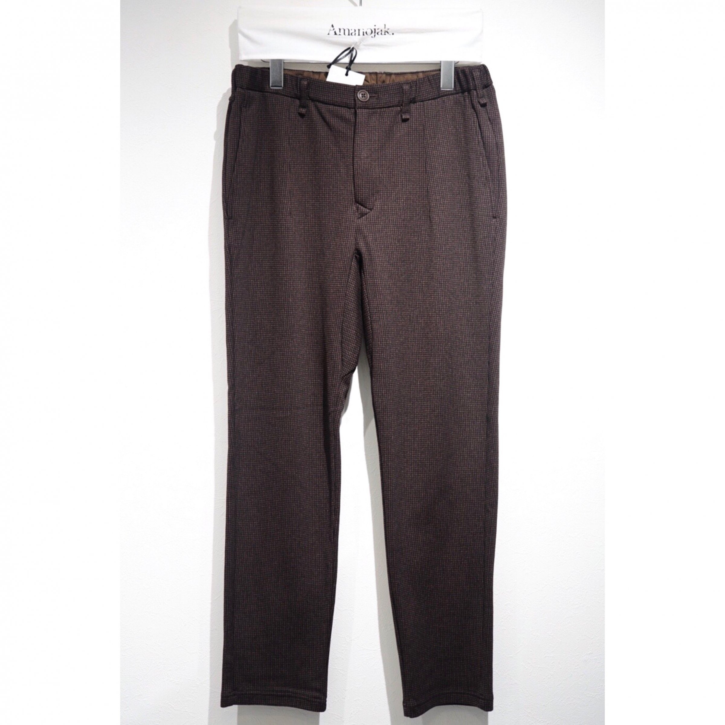 CURLY-CLIFTON EZ TROUSERS HOUND TOOTH