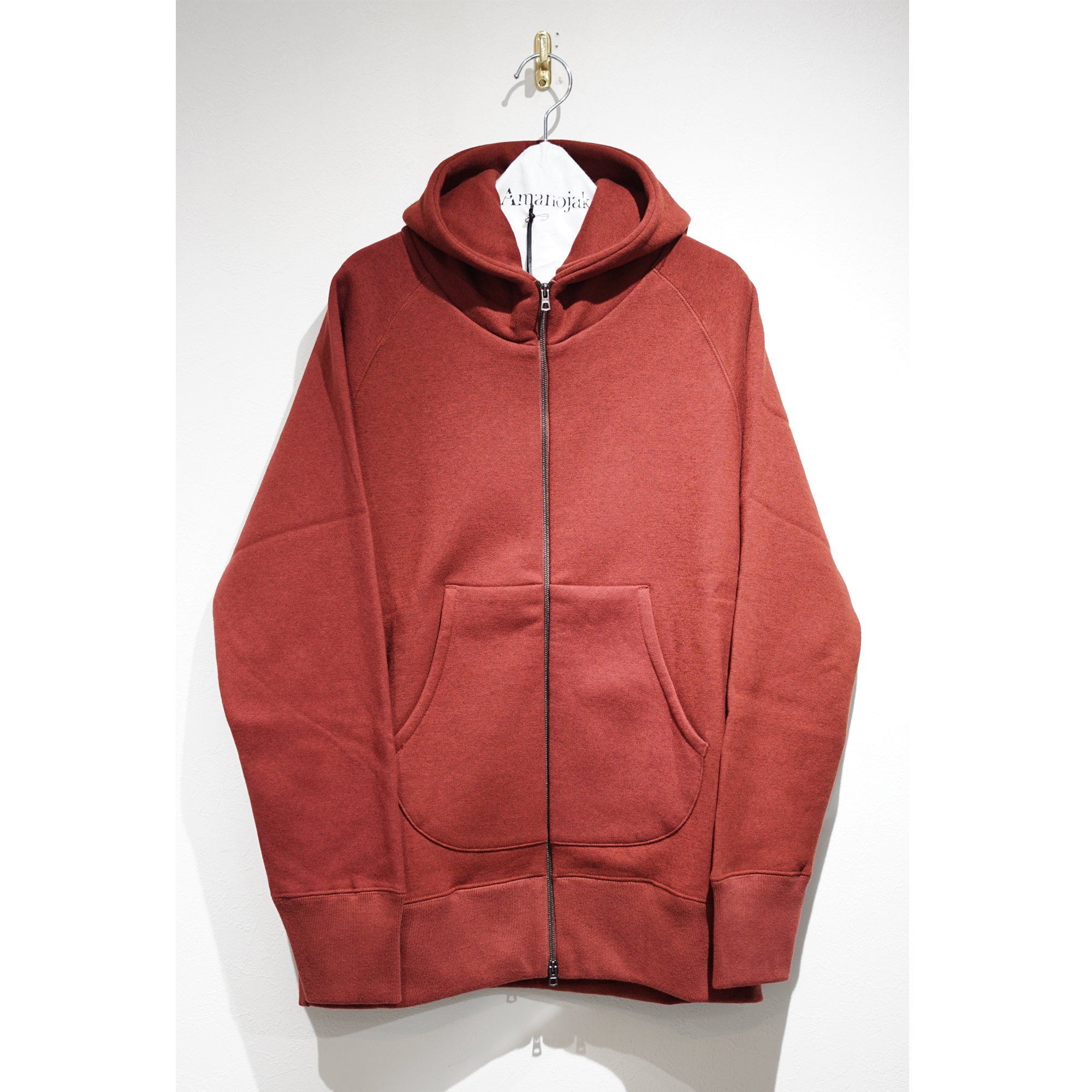 CURLY-SUPER140'S WOOL PRESTON ZIP PARKA