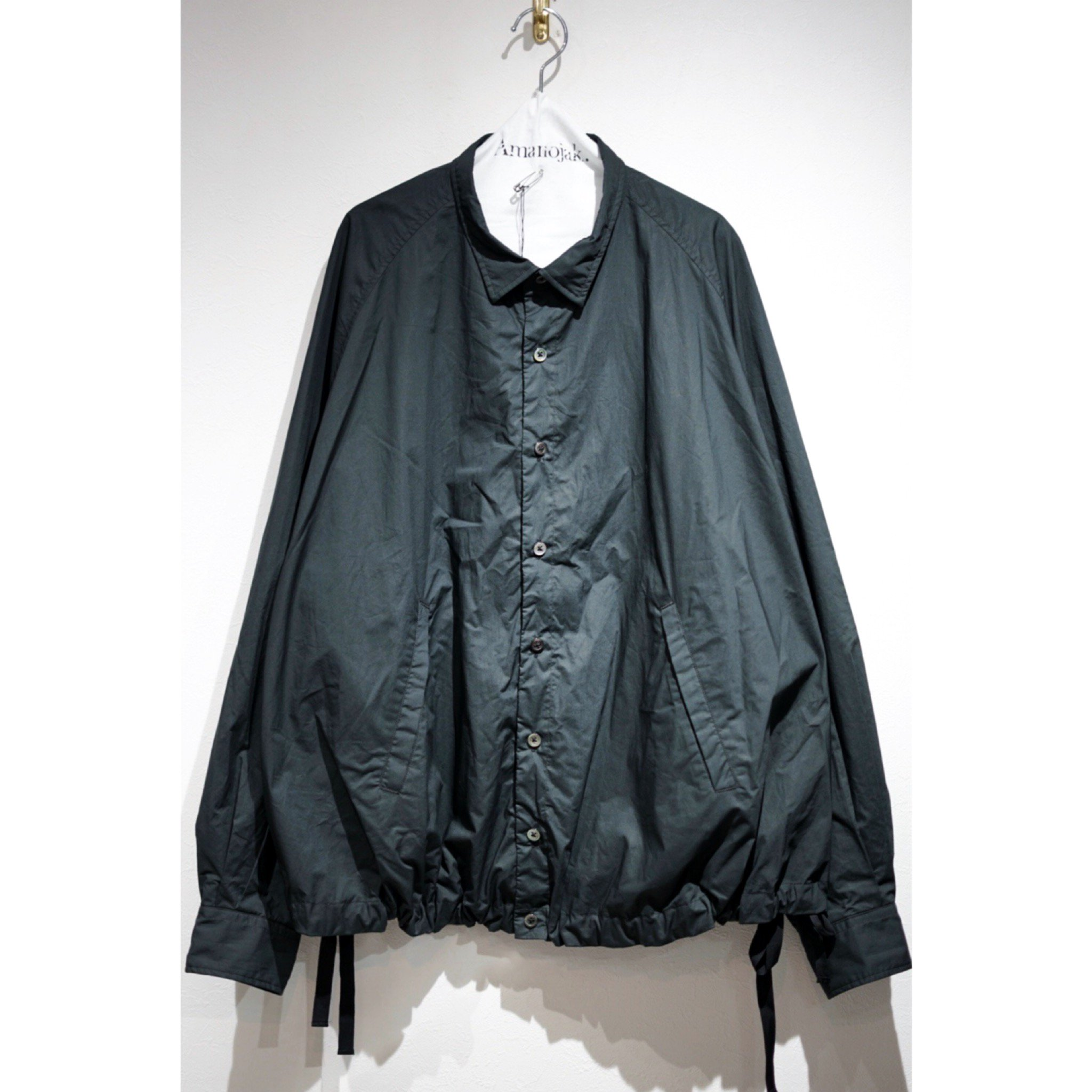 MAINU-EMARGENCY DOUBLE FABRIC SHIRTS BLACK