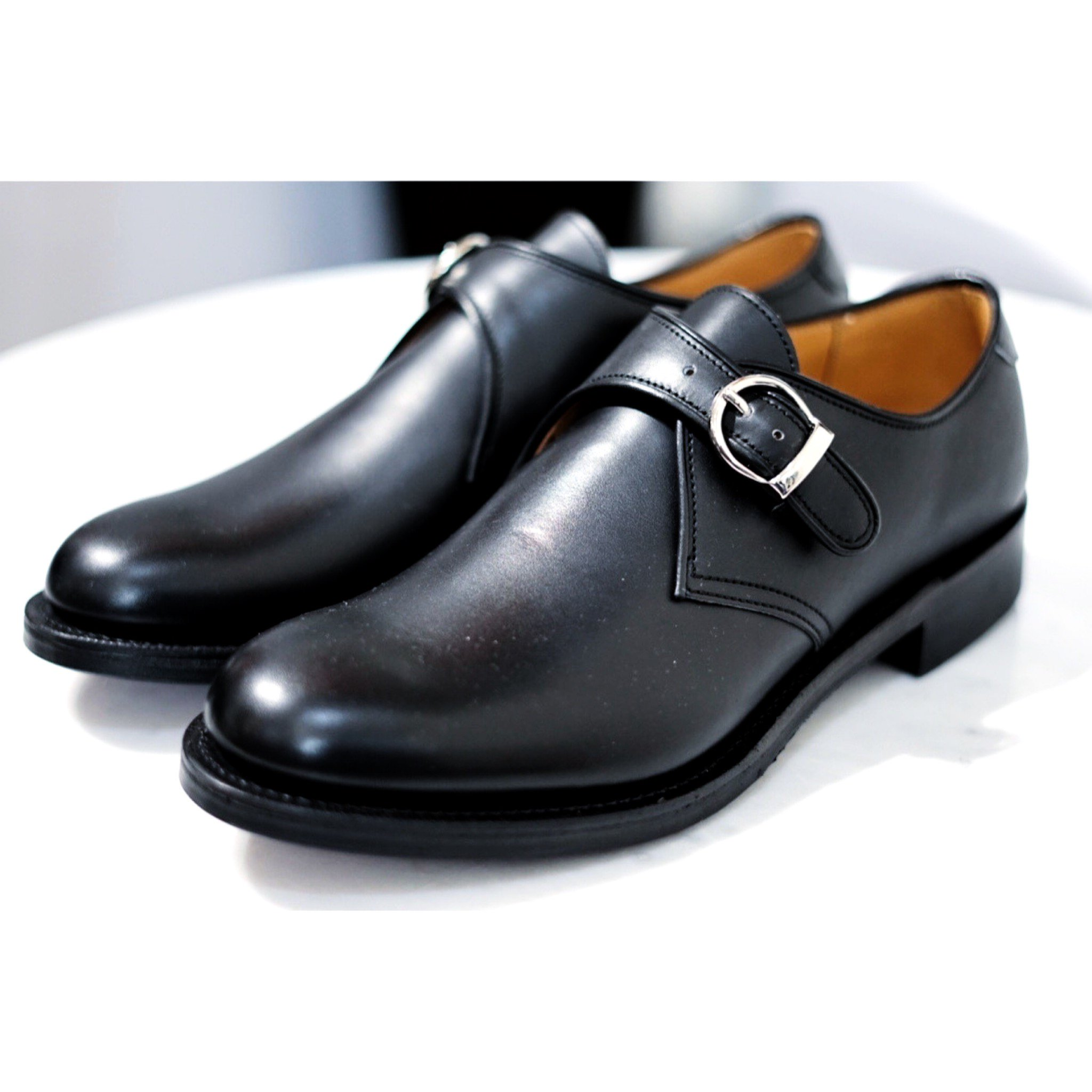 MAKERS-10th ANNIVERSARY SINGLE MONK STRAP CALF