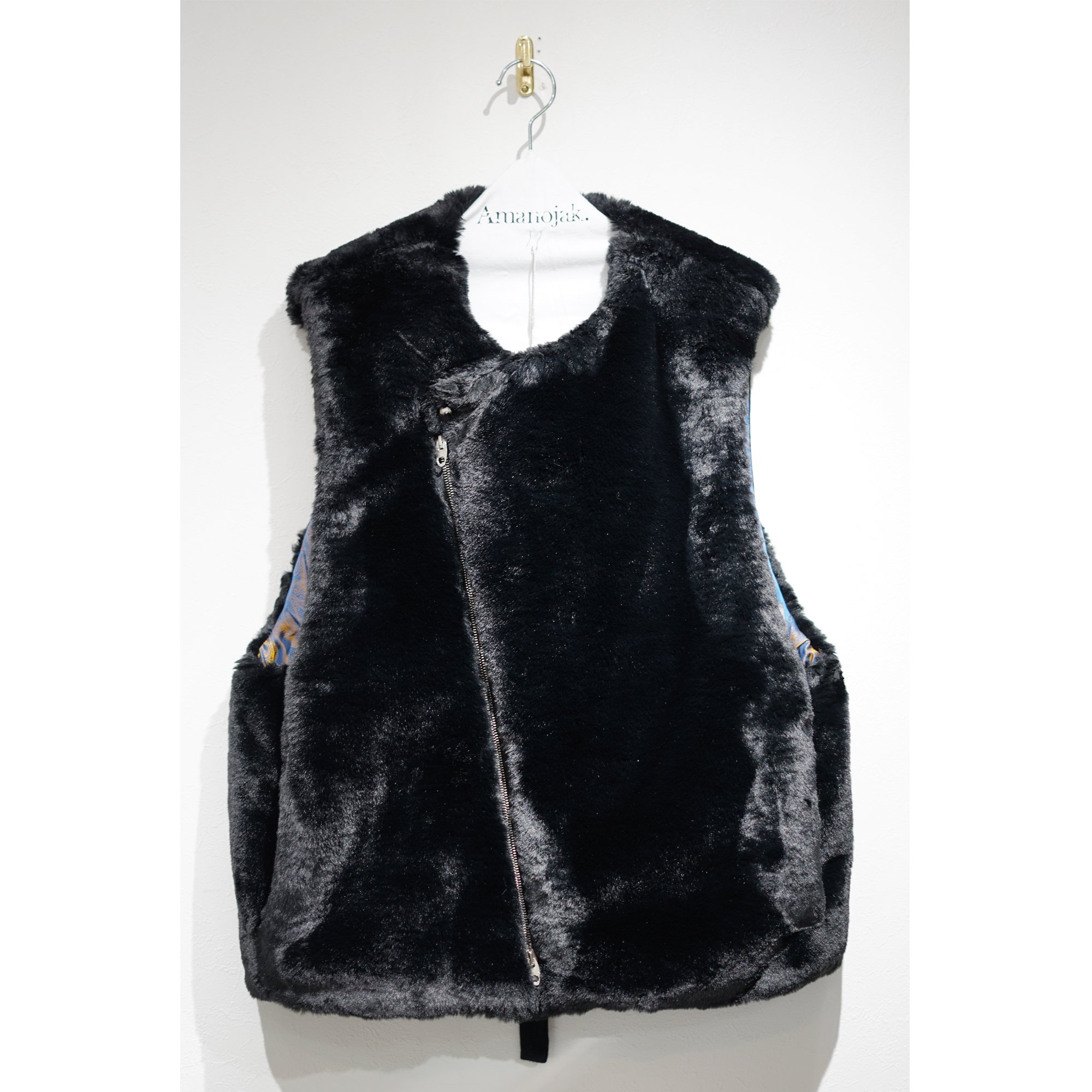 PRASTHANA-BIGMUFF VEST WITH THINSULATE BLACK