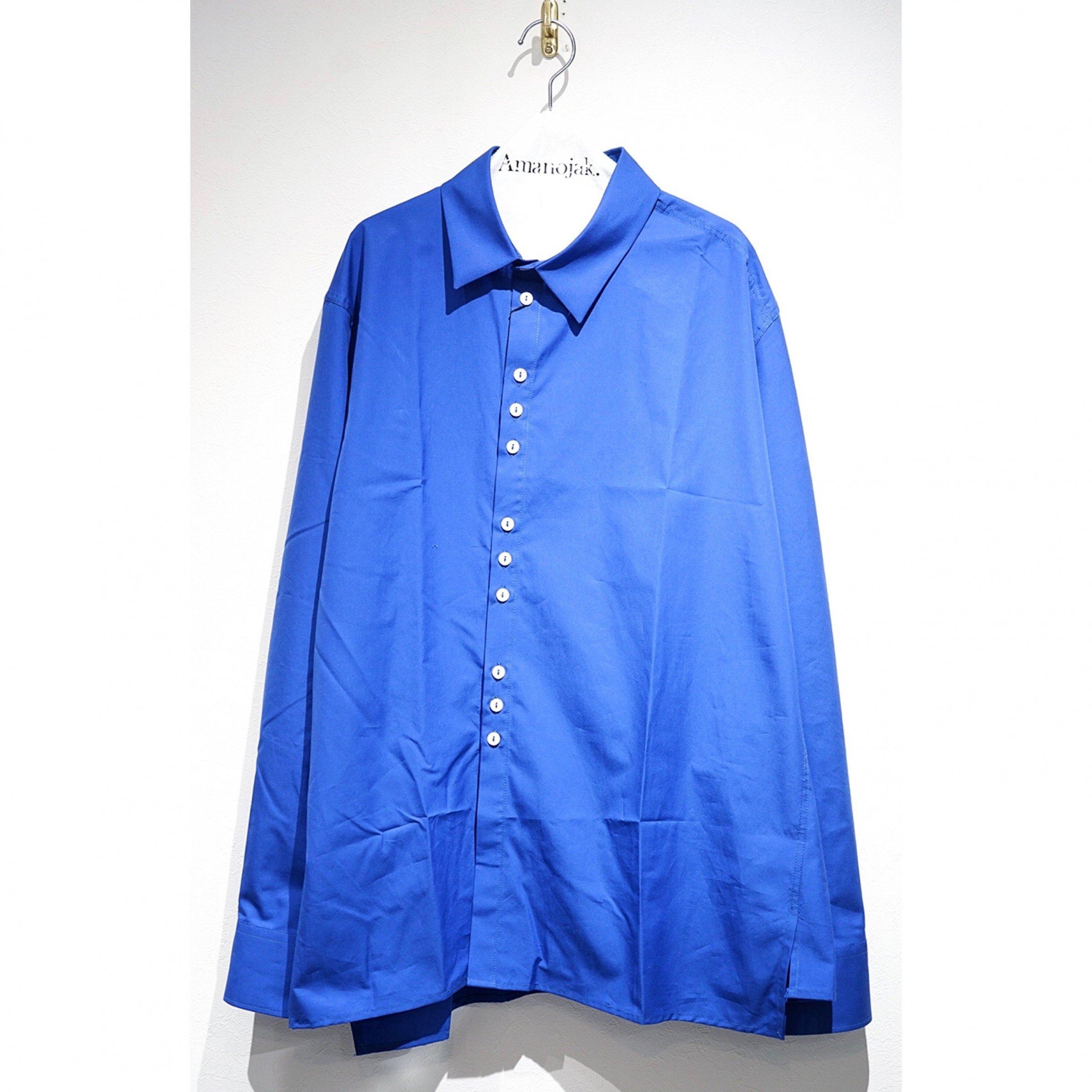 DELADA-ASYMMETRICAL SHIRTS MEDIUM BLUE