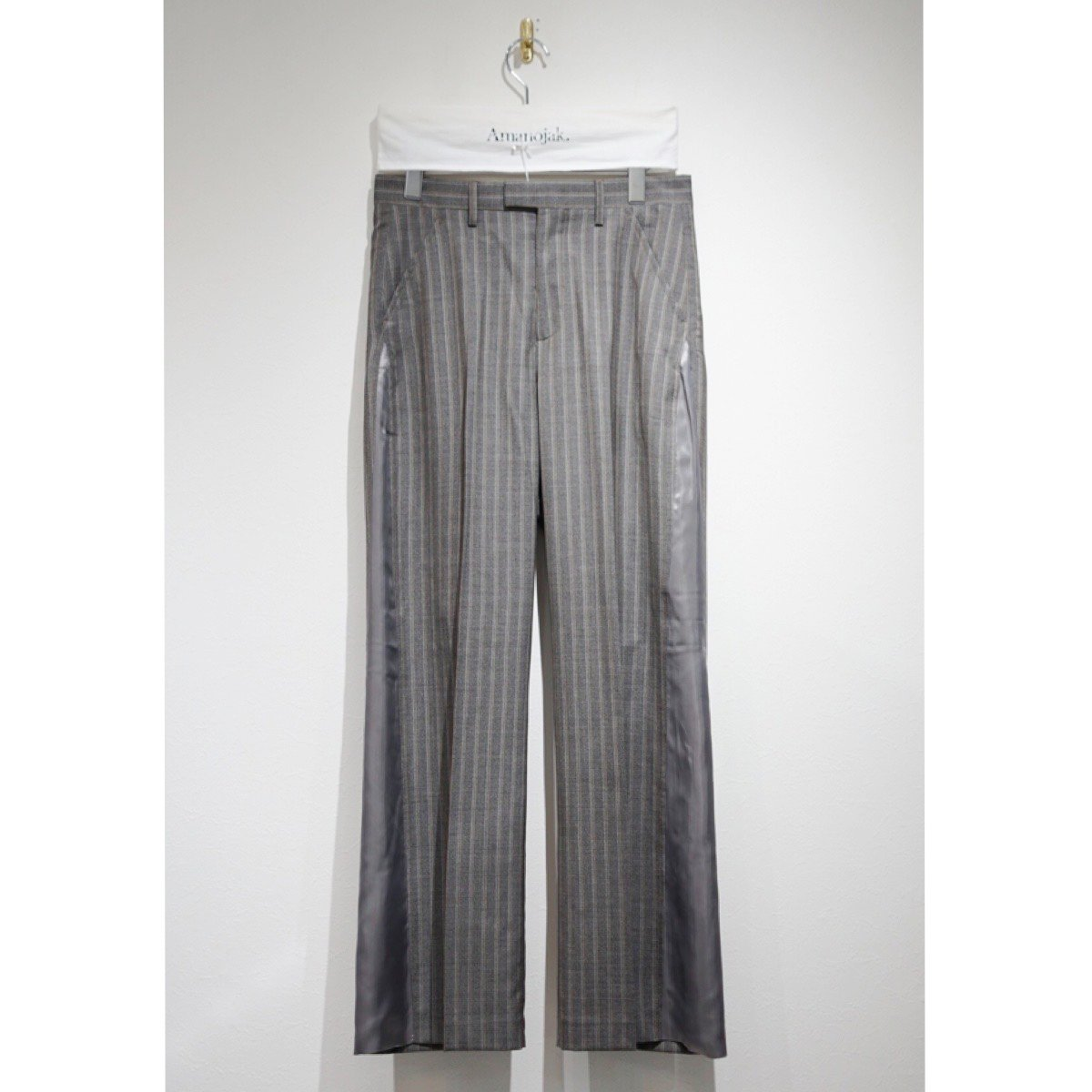 OUR LEGACY-GUSSET CHINO MAYFAIR PINSTRIPE
