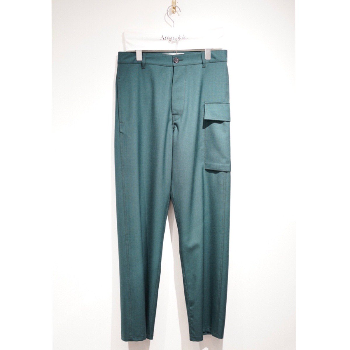 MARNI-RIP STOP WOOSTED WOOL TROUSER<br>(在庫あり)