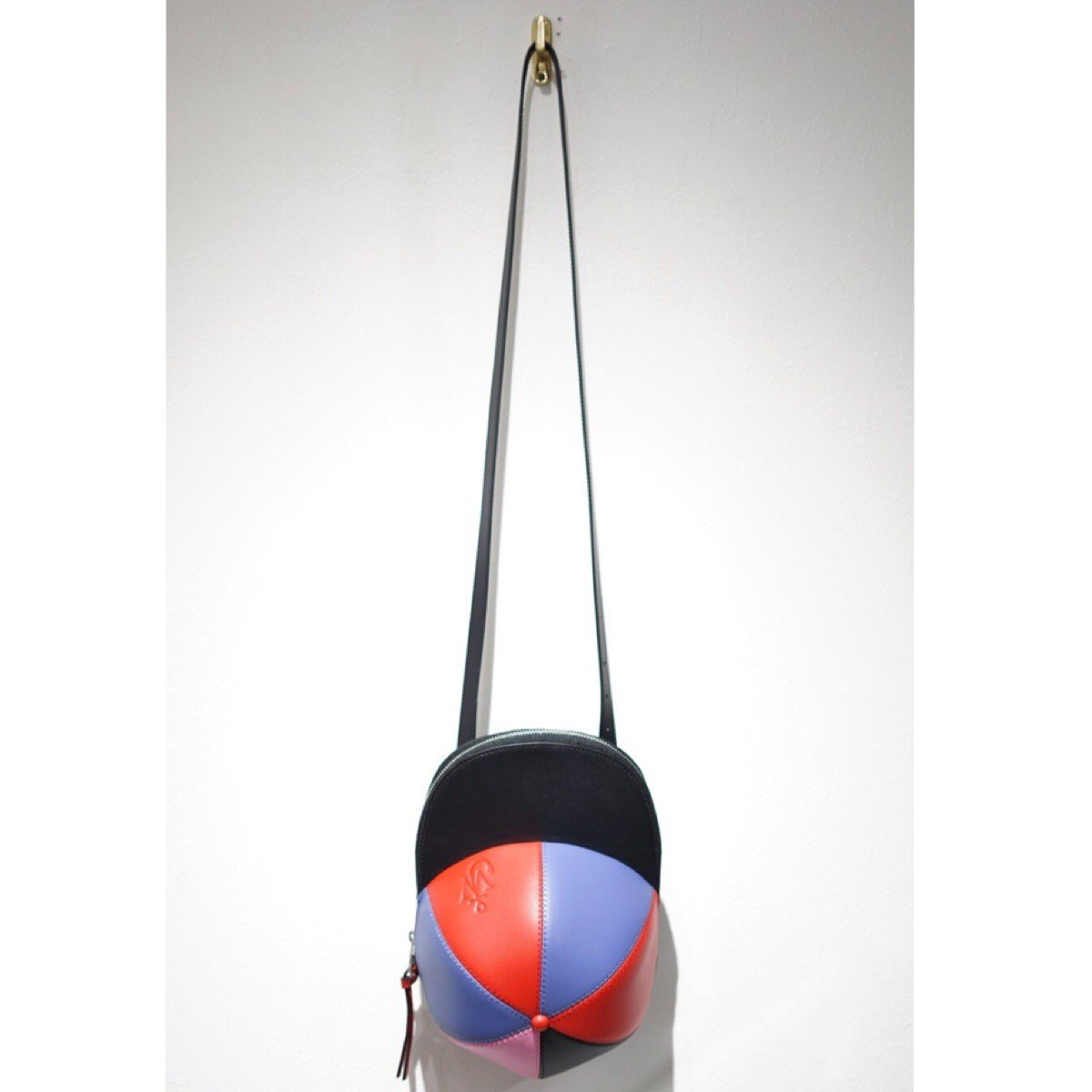 JW ANDERSON-CAP BAG LEATHER CRAZY