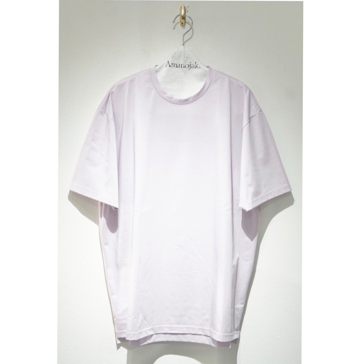 08sircus-COMPACT PLATED JERSEY 2WAY CREW LAVENDER PINK