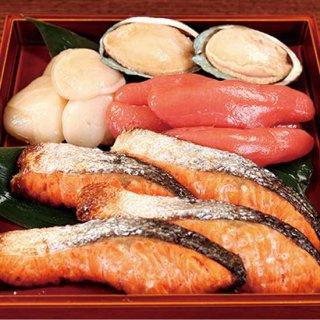 4種の魚貝の粕漬ざんまい