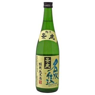 越乃景虎:名水仕込特別純米酒 (720ml)